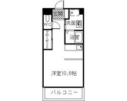 クオーレ北泉田1K
